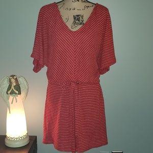 New Umgee Plus Size Stripe Coverup Tunic Dress